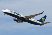 EI-EVC, Boeing 737-800, Ryanair