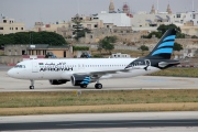 EI-ONJ, Airbus A320-200, Afriqiyah Airways