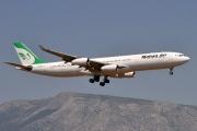 EP-MMC, Airbus A340-300, Mahan Air