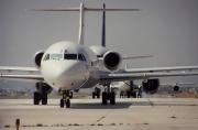F-GIOB, Fokker F100, TAT European Airlines