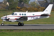 F-GJAD, Beechcraft E90 King Air, Private