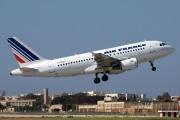 F-GRHD, Airbus A319-100, Air France