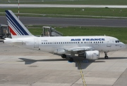 F-GUGA, Airbus A318-100, Air France
