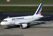 F-GUGK, Airbus A318-100, Air France