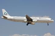 F-GYAN, Airbus A321-100, Air Mediterranee