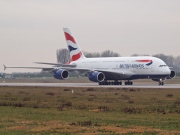 F-WWAK, Airbus A380-800, British Airways