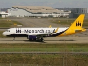 F-WWBZ, Airbus A320-200, Monarch Airlines