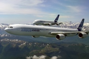 F-WWCA, Airbus A340-600, Airbus
