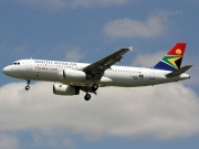 F-WWDF, Airbus A320-200, South African Airways