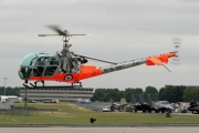 G-ASAZ, Hiller UH-12E, Private