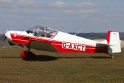 G-AXCY, SAN Jodel D.117A, Private