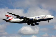 G-BNLI, Boeing 747-400, British Airways