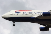 G-BNLS, Boeing 747-400, British Airways