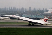 G-BOAF, Aerospatiale-BAC Concorde, British Airways