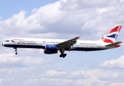 G-BPED, Boeing 757-200, British Airways