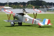 G-BWMJ, Nieuport Scout 17/23, Private