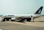 G-BYAB, Boeing 767-200ER, Britannia Airways