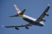 G-BYGE, Boeing 747-400, British Airways