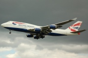 G-CIVA, Boeing 747-400, British Airways