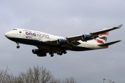 G-CIVK, Boeing 747-400, British Airways