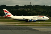 G-CIVR, Boeing 747-400, British Airways