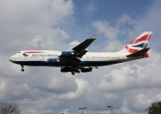 G-CIVY, Boeing 747-400, British Airways
