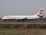 G-DOCF, Boeing 737-400, British Airways