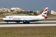 G-DOCG, Boeing 737-400, British Airways