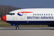 G-DOCX, Boeing 737-400, British Airways