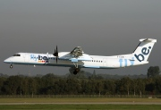 G-ECOD, De Havilland Canada DHC-8-400Q Dash 8, flybe.British European