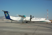 G-ECOE, De Havilland Canada DHC-8-400Q Dash 8, Olympic Air