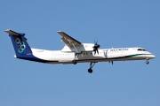 G-ECOF, De Havilland Canada DHC-8-400Q Dash 8, Olympic Air