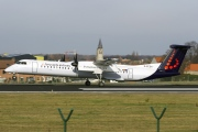 G-ECOH, De Havilland Canada DHC-8-400Q Dash 8, Brussels Airlines