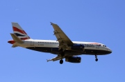 G-EUOB, Airbus A319-100, British Airways
