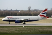 G-EUPM, Airbus A319-100, British Airways