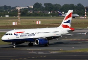 G-EUPZ, Airbus A319-100, British Airways