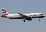 G-EUUC, Airbus A320-200, British Airways