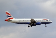 G-EUUF, Airbus A320-200, British Airways