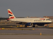 G-EUUZ, Airbus A320-200, British Airways