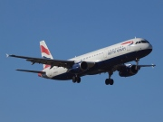 G-EUXE, Airbus A321-200, British Airways