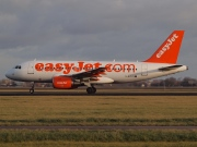 G-EZDC, Airbus A319-100, easyJet