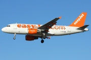 G-EZED, Airbus A319-100, easyJet