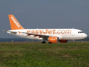 G-EZMS, Airbus A319-100, easyJet
