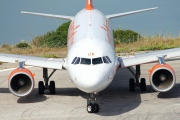 G-EZUA, Airbus A320-200, easyJet