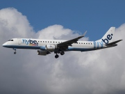 G-FBEC, Embraer ERJ 190-200LR (Embraer 195), flybe.British European