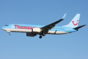 G-FDZT, Boeing 737-800, Thomson Airways