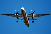 G-FLBE, De Havilland Canada DHC-8-400Q Dash 8, Olympic Air