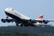 G-GSSF, Boeing 747-8F(SCD), British Airways World Cargo