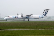 G-JECL, De Havilland Canada DHC-8-400Q Dash 8, flybe.British European