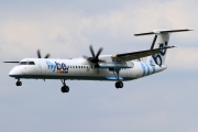 G-JECU, De Havilland Canada DHC-8-400Q Dash 8, flybe.British European